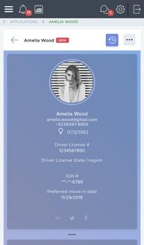 Online rental applications