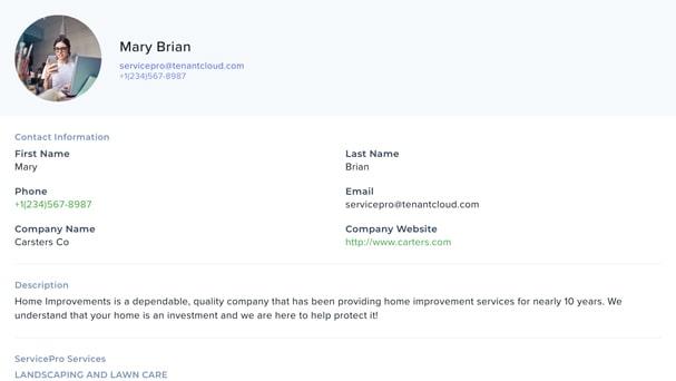 Create a free business profile